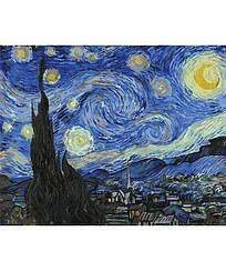 Картины по номерам - Звездная ночь Винсент ван Гог   Rainbow Art™ 40х50 см.   GX4756