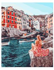 Картины по номерам - Городской канал   Rainbow Art™ 40х50 см.   GX31830