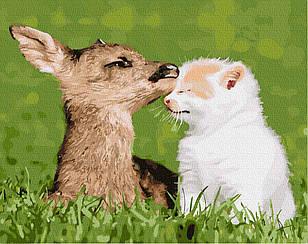Картины по номерам - Естественная любовь   Brushme™ 40х50 см.   GX27585
