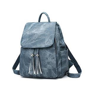 Женская сумка - рюкзак HiFlash Синий
