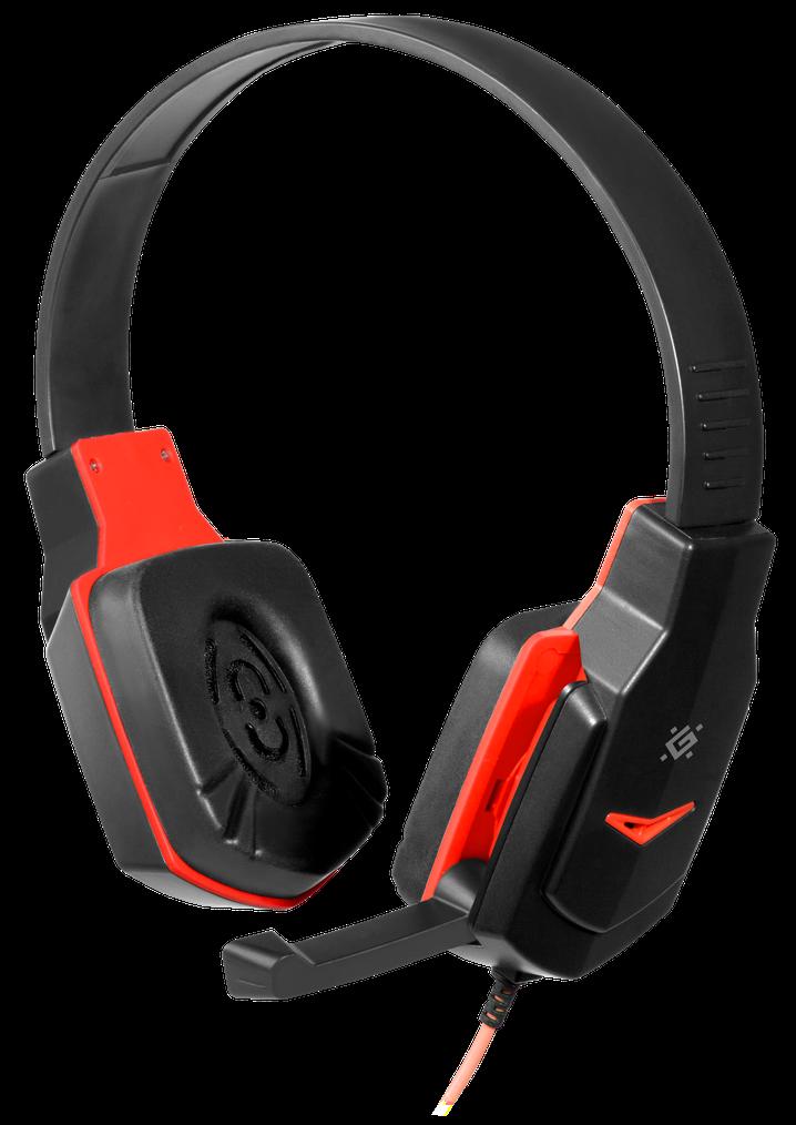 Гарнитура Defender Warhead G-320 Black+Red (64033) (6492216)