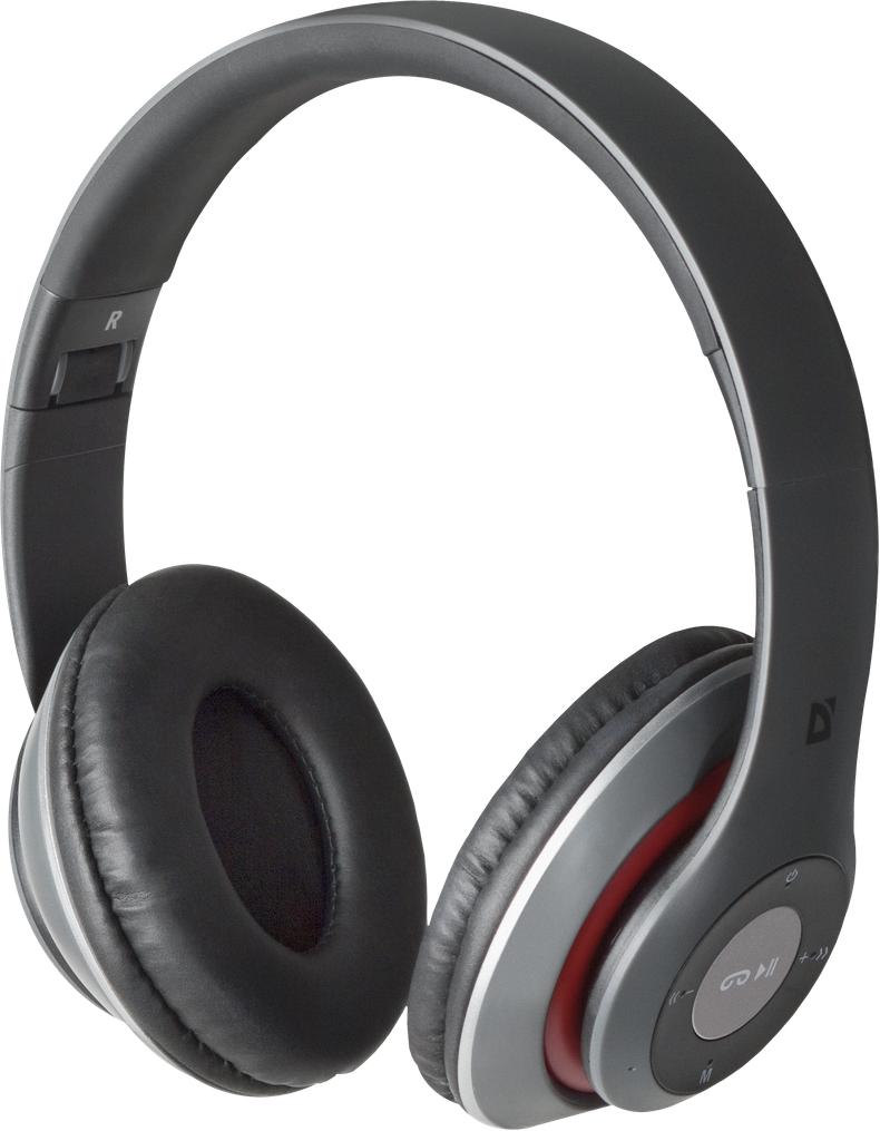 Гарнитура Defender FreeMotion B570 Bluetooth Gray/Red (63570) (6492207)