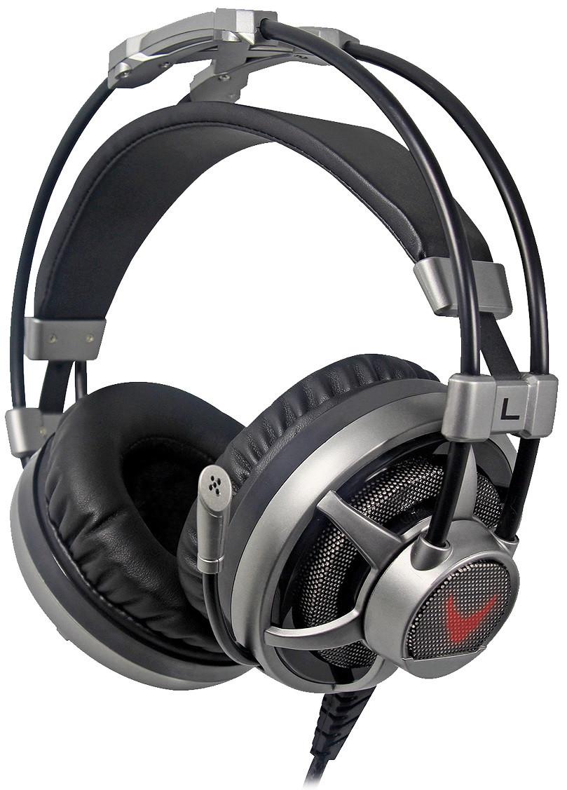 Гарнитура Omega Varr Headset OVH-4060 Hi-Fi PC/PS3 USB Led Vibration (6503404)