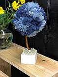Декоративное Дерево из стабилизированного мха 25 см. Декор дома офиса Оригинальный корпоративный, фото 6