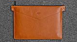 Папка кожаная HandWers для ноутбука 15' BERING  коричневый, фото 4
