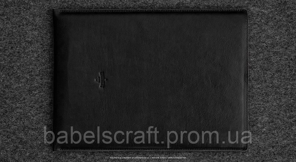 Чехол кожаный HandWers для MacBook 11 (2015) HIKE черный