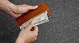 Бумажник HandWers SPIRE коричневый, , фото 2
