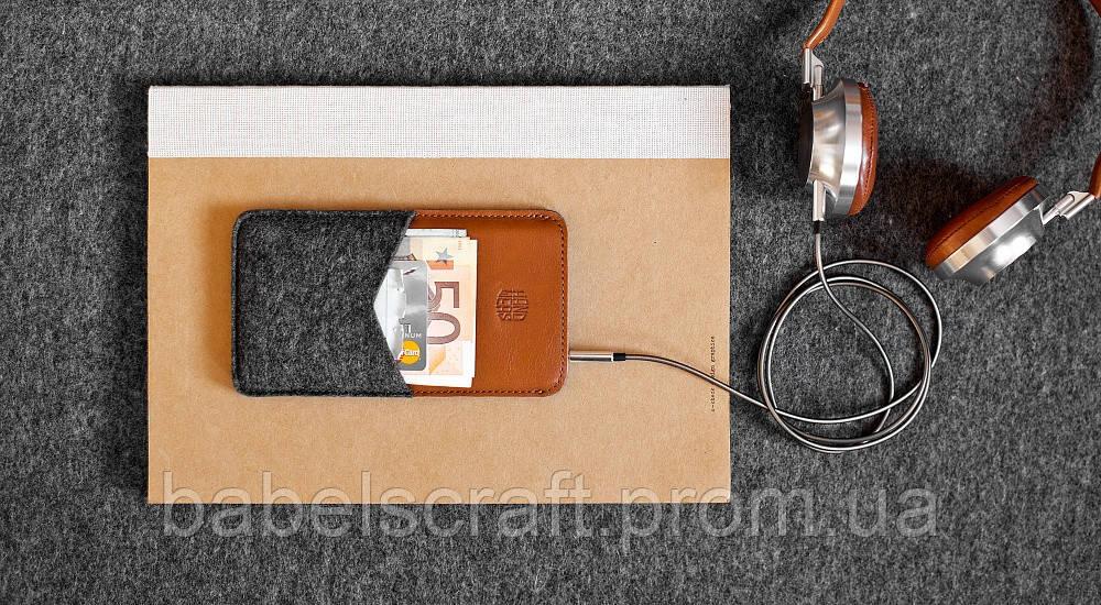 Чехол HandWers для iPhone 7 Plus, 8 Plus, XsMax, 11 Pro Max, PARRY Коричневый с тёмным