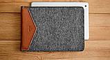Чехол HandWers для iPad Mini, WELT Коричневый с тёмным, фото 2