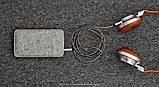 Чохол HandWers для iPhone SE// ONEFOLD x Коричневий з світлим, фото 3