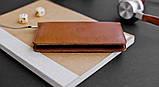 Чехол-бумажник HandWers для iPhone SE, RANCH Коричневый, фото 2