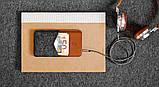Чехол HandWers для iPhone SE, PARRY  Коричневый с тёмным , фото 2
