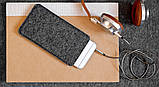 Чехол HandWers для iPhone SE, PARRY  Коричневый с тёмным , фото 3