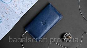 Чехол-бумажник HandWers для iPhone SE,  RANCH Синий