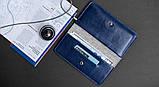Чехол-бумажник HandWers для iPhone SE,  RANCH Синий, фото 6