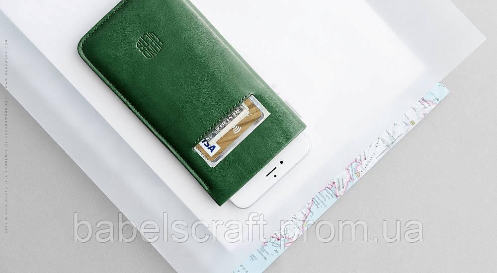 Чехол HandWers для iPhone 7 Plus, 8 Plus, XsMax, 11 Pro Max,  ANCON Зеленый