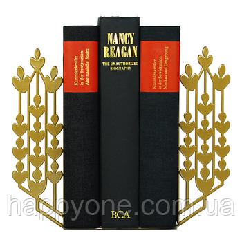 Держатели для книг Glozis Grano (бронза)