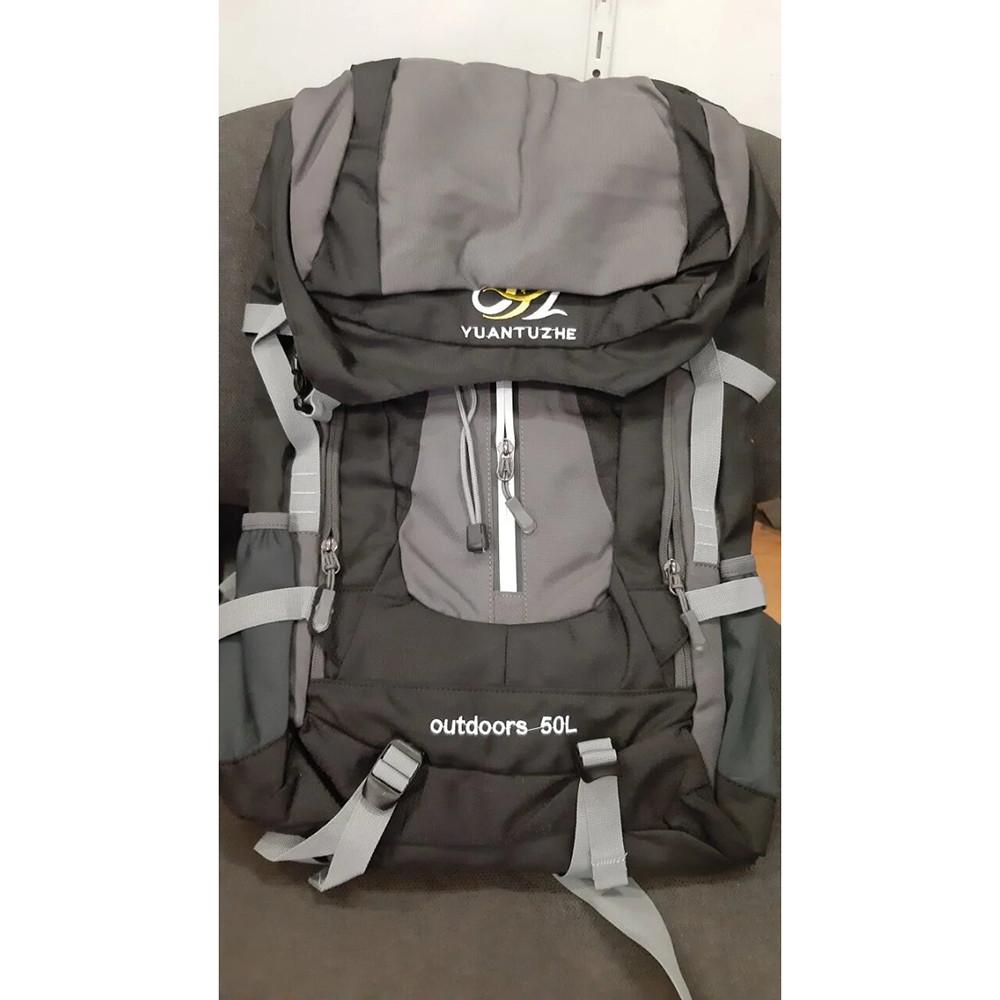 Туристический рюкзак на 50 литров Yuantuzh 50 л + ПОДАРОК: Держатель для телефонa L-301