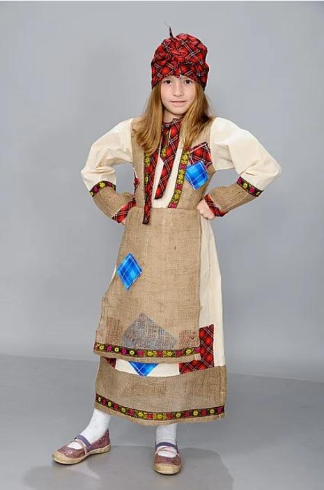 Маскарадный костюм Баба Яга