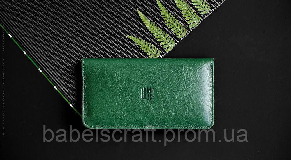 Чехол-бумажник HandWers для iPhone 7 Plus, 8 Plus, XsMax, 11 Pro Max, RANCH Зелёный