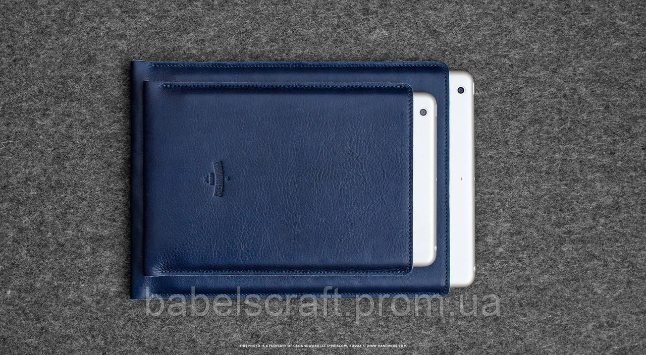 Чехол HandWers для iPad Pro12,9, HIKE Синиий
