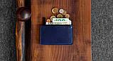 Маленький кошелёк HandWers FILLER синий, фото 2