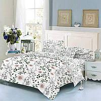 Комплект постельного белья ТЕП Nature бязь семейный белый