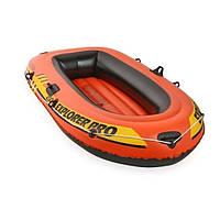 Лодка Intex 58356 Explorer Pro 200, надувная пвх, полутораместная