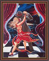 Схема для вышики бисером Ночное танго