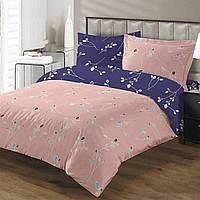 Комплект постельного белья ТЕП Florance бязь семейный розовый