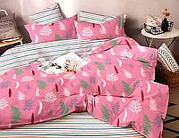 Комплект постельного белья ТЕП Nicole бязь семейный розовый