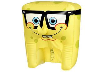 Карнавальный головной убор надувной SpongeBob SpongeHeads SpongeBob Expression 2 (EU690605)