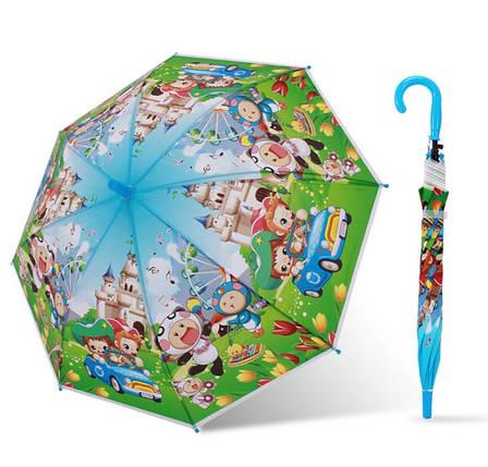 Дитячий кольоровий парасольку тростину з мультгероями, фото 2