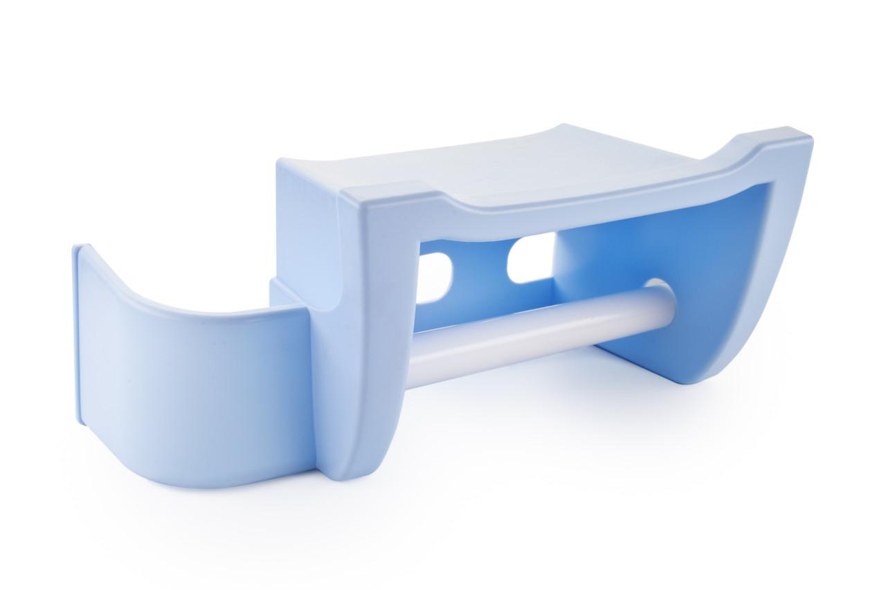 Полка для туалета Berossi Mira светло-голубой