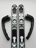 Ручка дверная нажимная Hoppe New York черный матовый оригинал Германия, фото 3