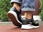 Мужские кроссовки New Balance 1500 (черно-серые с белым) 9906, фото 2