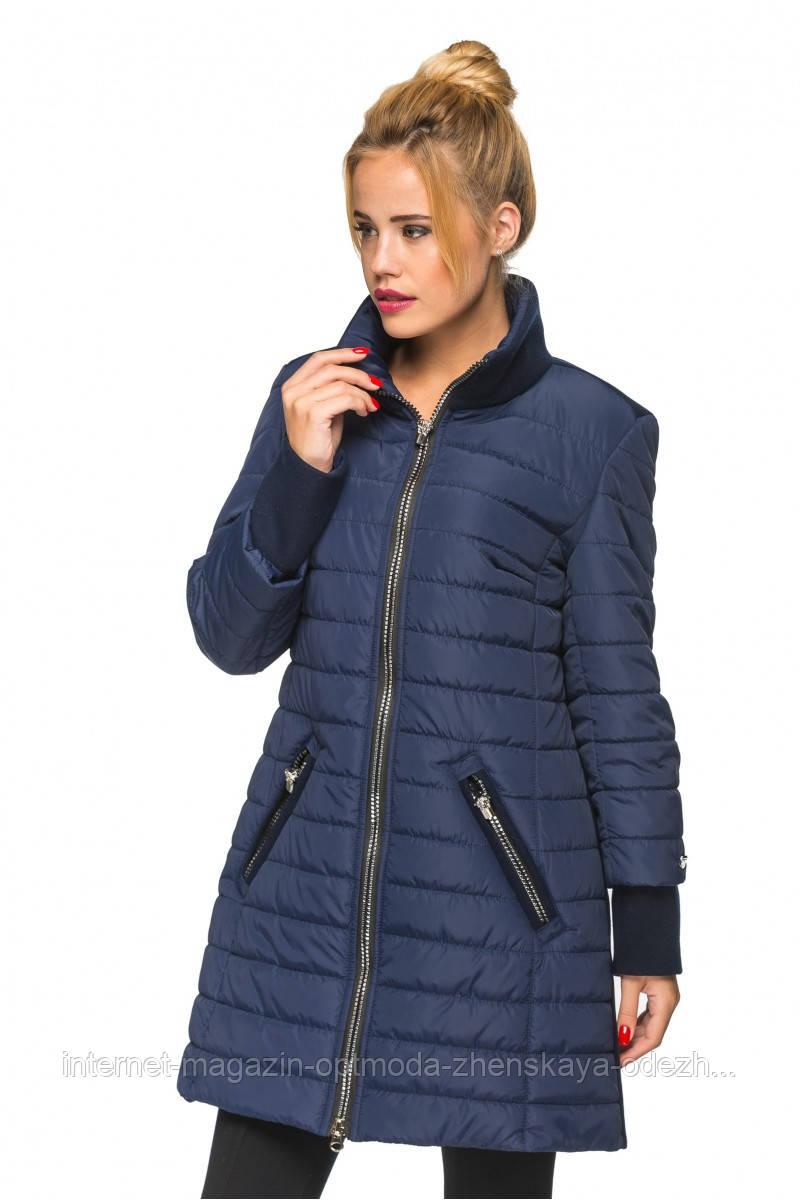 """Стильна модна жіноча куртка подовжена """"Таміла"""""""