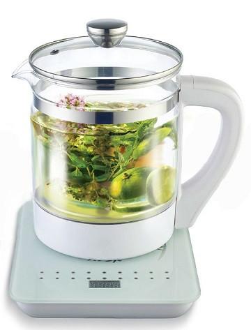 Чайник Vimar VK-153 Зі Скляним Корпусом (білий)