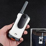 Рация Motorola TLKR T50 (0.5W, PMR446, 446 MHz, до 6 км, 8 каналов, 4xAAA), комплект 2шт, бело-серая, фото 4
