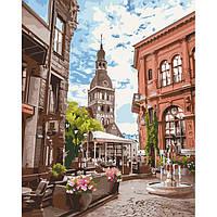 Картина по номерам улочка, фото 1