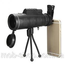 Монокуляр з триногою і кліпсою Panda Vision 40x60