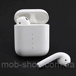 Бездротові навушники i100 TWS блютус з функцією бездротової зарядки кейса