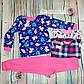 Пижама для девочки Туфли интерлок, фото 2