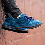 Ботинки мужские зимние South Oriole blue, зимние классические ботинки, фото 6