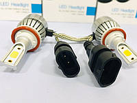 Супер яркие автолампы LED (лед) цоколь H11 Лампы в автомобильные фары и противотуманки
