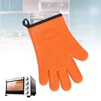 Прочные силиконовые перчатки с хлопком- 1шт