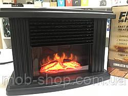 Камін обігрівач Flame Heater з ПУЛЬТОМ (міні камін для квартири і будинки)