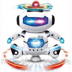 Танцующий светящийся робот Dancing Robot   Детская игрушка музыкальный робот