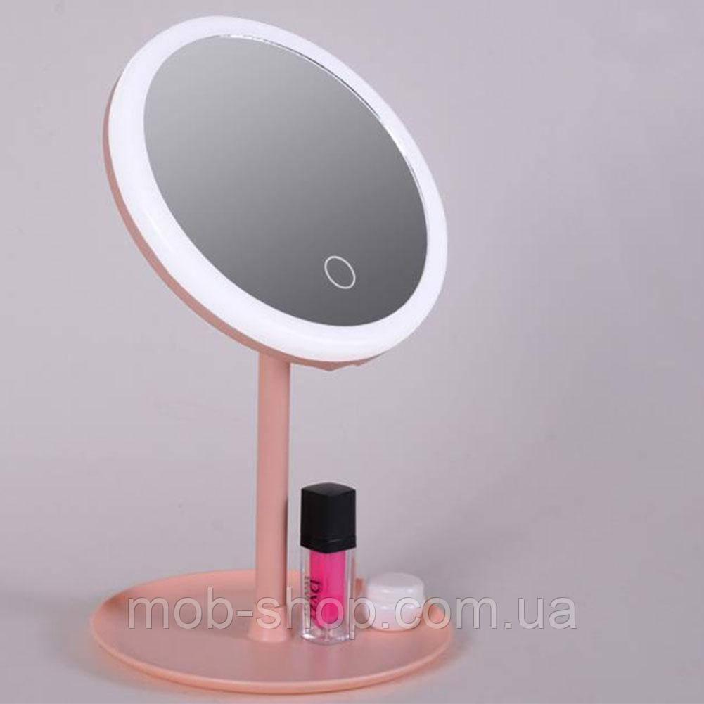 Зеркало с LED подсветкой для макияжа, Led Lighted