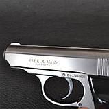 Пистолет сигнальный, стартовый Ekol Major (9.0мм), серый, фото 3